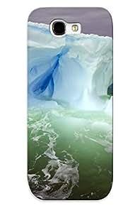 Mooseynmv Premium Protective Hard Case For Galaxy Note 2- Nice Design - Nature Iceberg Ocean Sea Artic Ice Cold