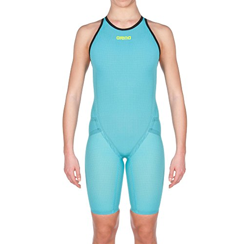 Arena 2A480 Women's Powerskin Carbon Flex Vx - Closed Back, Turquoise-Black - 26 by arena