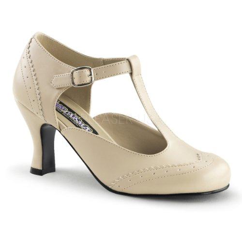 creme Womens Heels matt Beige Low Higher qzv5wIw
