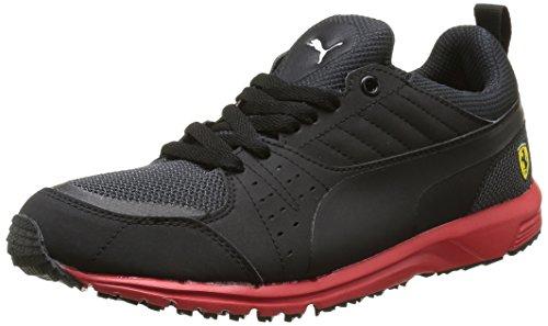 Puma Pitlane Sf 1 5 - Zapatillas de deporte Hombre Negro - Noir (Black/Black/Rosso Corsa)