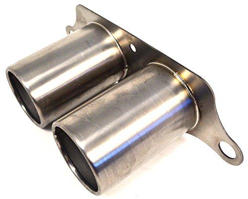 2007-2011 Porsche 997 GT3 Titanium Exhaust System Brushed Tips Agency Power AP-997GT3-171TI (Porsche Gt3 2010)