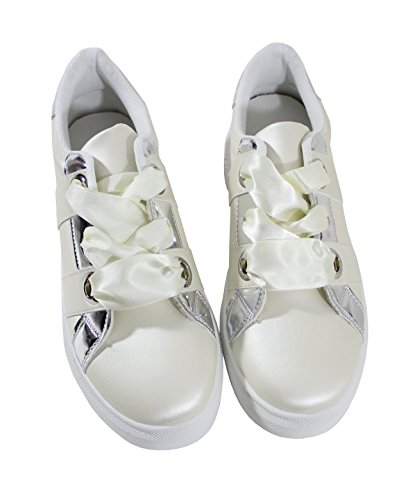 By Shoes Sneaker Bianco Donna nbsp; qwYv1q8