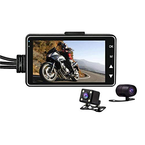 Video camera for motorcycle