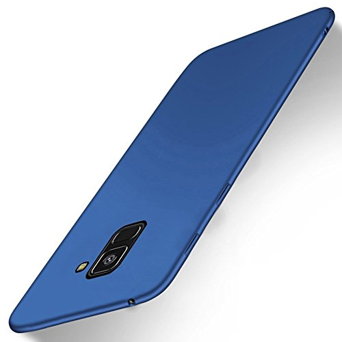 Sony Xperia XA2 High quality Funda,OFU® [Anti-Slip][Slim Fit] Frosted Ultra Thin Matte Hard Back Cover Case ,PC case cover Para Sony Xperia XA2 Smartphone-rojo azul