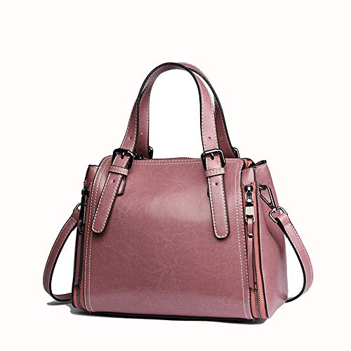 A Donna Vagabondo Da Rosa Borsa Per Rosa colore Spalla Borsetta Donne Versatile In Afcity Pelle Tracolla Le Crossbody Tote FXx1F4