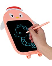 Soft Rubber, Pink, LCD Handwriting Tablet, LCD Handwriting Board, for Kids, Family Education