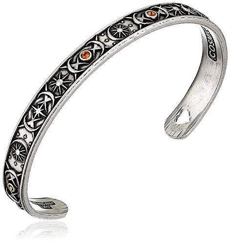 (Alex and Ani Cosmic Balance Cuff Rafaelian Silver Bangle Bracelet)