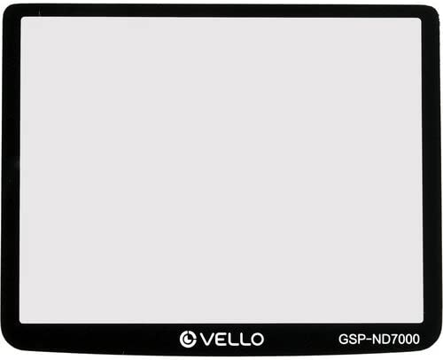 Vello Glass LCD Screen Protector for Nikon D7000 4 Pack