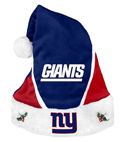 6aa20093b34 New York Giants Colorblock Santa Hat – Football Theme Hats