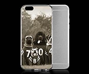 Light weight with strong PC plastic case for iphone 5c Lifestyle Animals Loose Leashes -Bone Crushers
