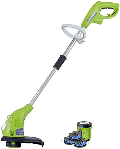 Greenworks 4Amp 13-Inch Corded String Trimmer with Trimmer Line