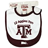 Texas A&M Aggies NCAA Baby Bibs 2 Pack