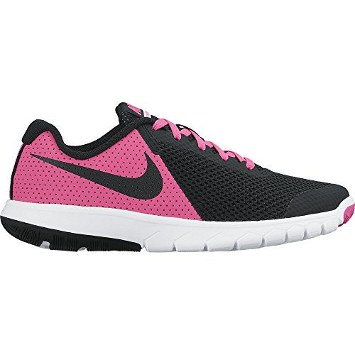 Nike Girls Flex Experience 5 (GS) Running Shoe (5 Big Kid M, Pink