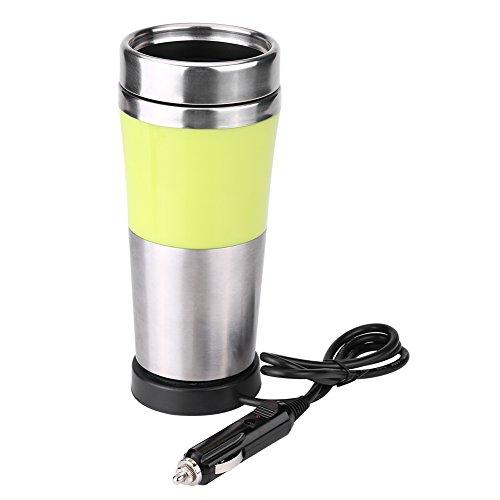 Fdit 350ml 12V Car Stainless Steel Cigarette Lighter Heating
