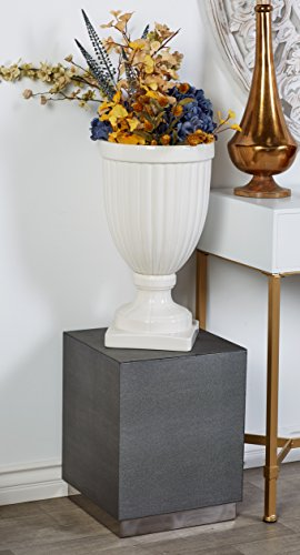 Deco 79 62776 Accent Table White, Gold by Deco 79 (Image #4)