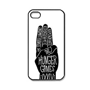 HP DF The Hunger Games Pattern Plastic Hard Case for iPhone 4/4S by runtopwell