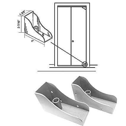 Closet Door Savers Bi Fold Closet Door Pivot Pin Repair Kit White