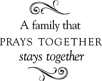 Amazoncom Tapestry Of Truth A Family That Prays Together Stays