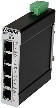 N-Tron 105TX-POE Ethernet Switch  Used