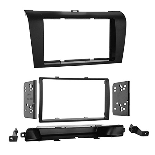 Metra 95-7504 Double Din Installation Dash Kit for 2004-2009 Mazda 3 Install Kit ()