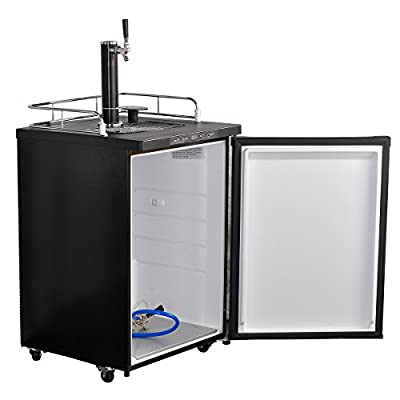 Smad Full Size Kegerator Keg Beer Cooler electronic refrigerator,5.6 cu ft