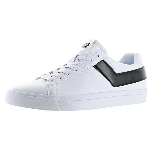 Pony Women's Top-Star-Lo-Core-UL White/Black Sneakers Shoes Sz. ()