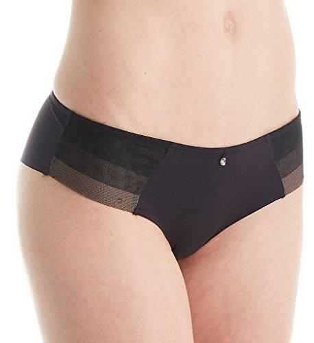 Aubade Onde Sensuelle Boyshort Panty (CP61) S/Black