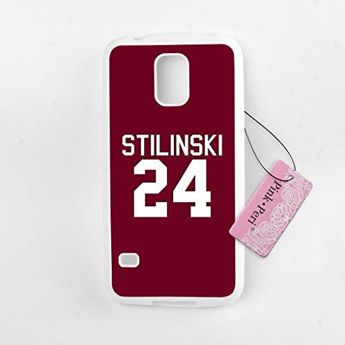 Pink Peri™ Teen Wolf Inspired Stiles Stilinski Dylan O'brien White Soft Case For Samsung Galaxy S5 case