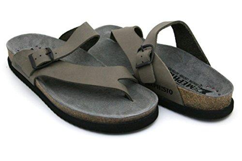 Mephisto - Sandalias de vestir para hombre Peltro