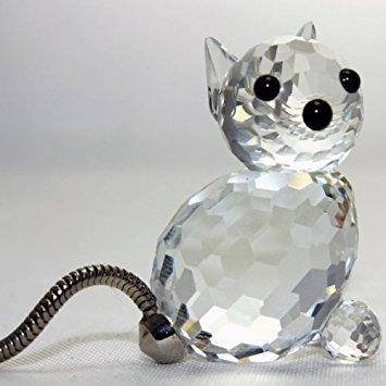 Swarovsk Crystal Miniature Cat