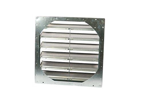 Tpi Corporation Ce24 Ds Direct Drive Exhaust Fan Shutter
