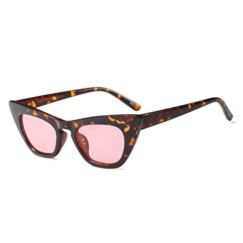 Gafas De TIANLIANG04 Gafas Uv Rojo De Pink De C5 Gato Negro Blanco Gafas Mujer Sexy Ojo Señoras Tonos Clout Travel Leopard Vintage Sol C4 dqSzwrq
