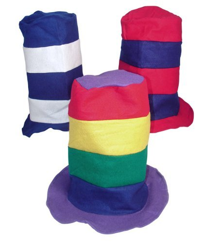 Price comparison product image Stovepipe Party Hat Assortment (1 dz) [Toy]