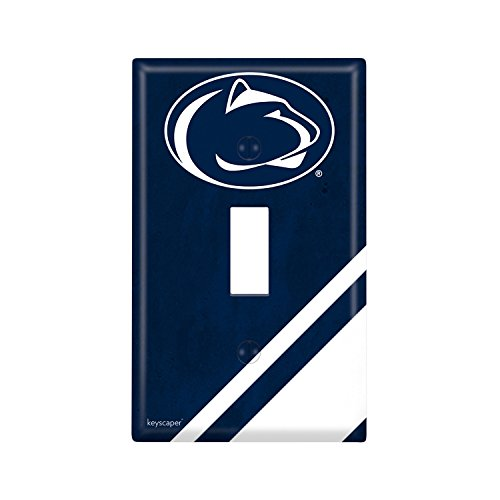 Keyscaper Penn State University Single Toggle Light Switch Cover NCAA ()