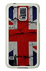 underwater Samsung Galaxy S5 cases United Kingdom Flags PC White Custom Samsung Galaxy S5 Case Cover
