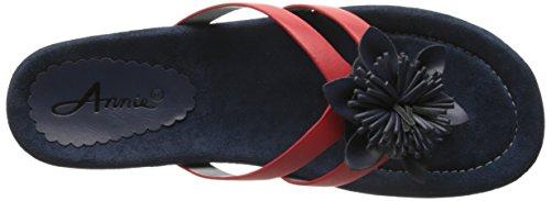 Annie Shoes Women's Sunburst Sandal Navy/Red xi8fq