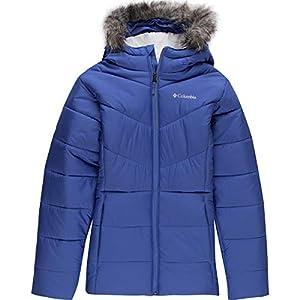 Columbia Girls' Big Katelyn Crest Jacket, Arctic Blue, Medium (10/12)
