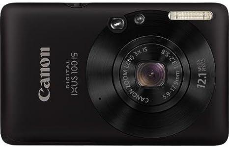Canon Digital Ixus 100 Is Digitalkamera 2 5 Zoll Kamera