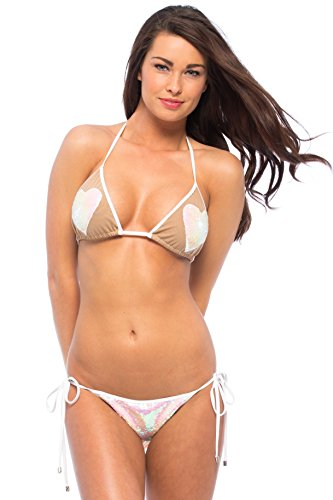 Beach Bunny Heartbreaker Bikini Bottom (S) by Beach Bunny