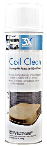 Clean Coil (3X:Chemistry 46822 Foaming Coil Cleaner - 18 oz.)