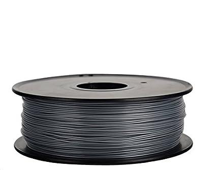 Filamento 3D Flexible (elastómero termoplástico) Gris 1.75 mm para ...