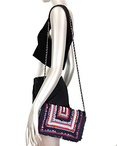 Zara Femme bandoulière Sac effrangé 304 1368 O6OCrR
