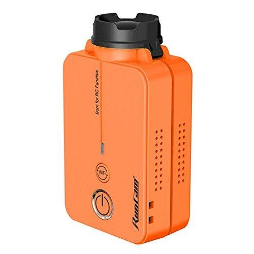 Crazepony RunCam 2 FPV Sport Camera 1080P 60fps HD Mini Action Dash Cam Mobius Built-in WIFI(Orange)