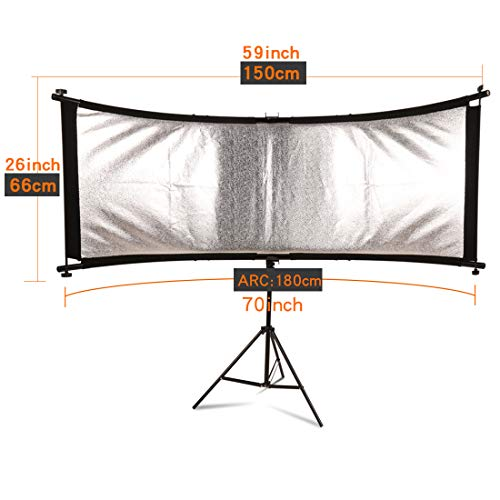 GSKAIWEN 70-Inch(Gold, Silver,) Portable Photography Studio Multi Photo Disc Collapsible Light Reflector (Photography Accessories) (Collapsible)