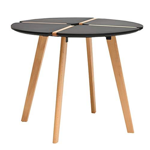 Amazon Com Chunlan Solid Wood Round Dining Table Home Coffee