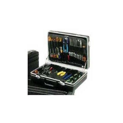 Chicago Case XLST61 Standard Attache Tool Case, 17.5 x 12.5 x 4.5 ,Black