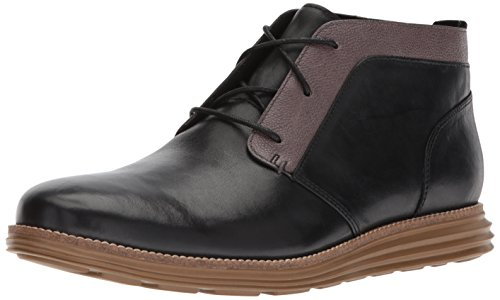 Cole Haan Men's Original Grand Chukka Boot, Black Rubber, 11.5 Medium US by Cole Haan