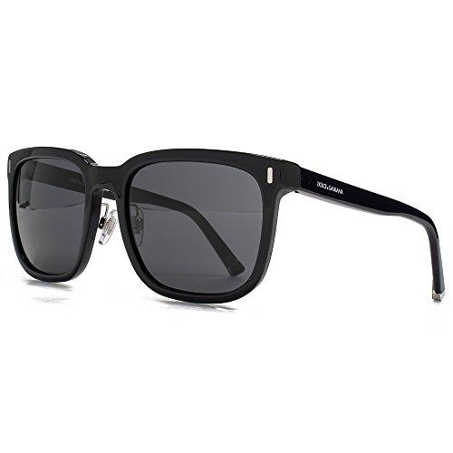 Dolce & Gabbana Lunettes de soleil Square de lADN en noir DG4271 501/87 56 Grey