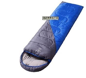 Queta Camping Saco de Dormir cálido para Adultos al Aire Libre, Saco de Dormir de Acampada de algodón de Invierno: Amazon.es: Informática