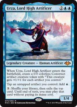 Magic: The Gathering - Urza, Lord High Artificer - Modern Horizons